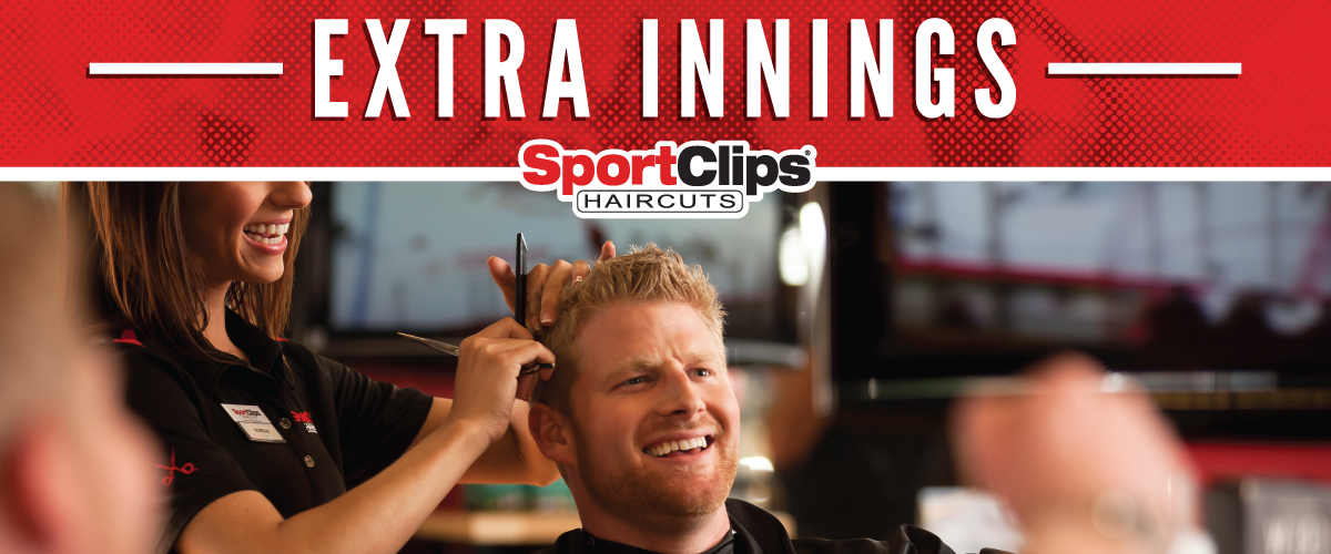 The Sport Clips Haircuts of Wanamaker Crossing Extra Innings Offerings